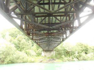 Konstrukcija mostu pred sanacijo